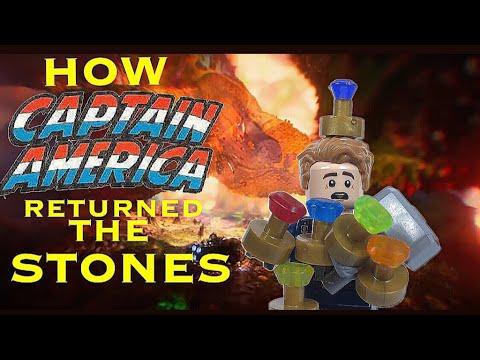 How Captain America Returned The Stones [Lego Stopmotion]