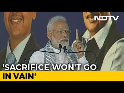 Sacrifice Of Soldiers Killed In Pulwama Attack Won't Go In Vain: PM Modi
