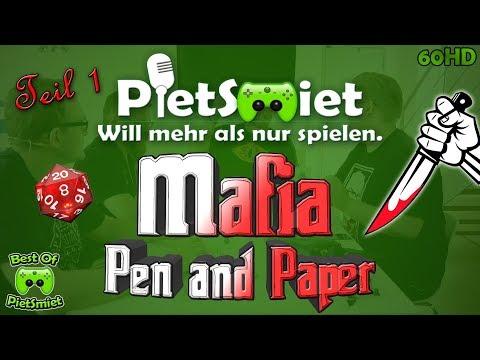 MAFIA Pen & Paper #1 🎮 Best Of PietSmittie