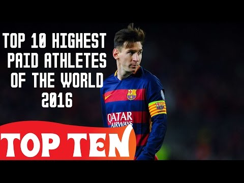 Top 10 Highest Paid Athletes of the World 2016