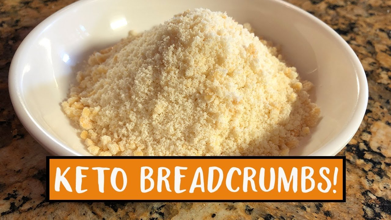 Keto Breadcrumbs Low Carb Gluten Free Bread Crumbs Easy To Keto Recipes Youtube