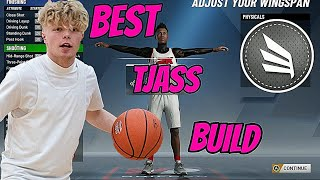 *NEW* TJASS BUILD IN 2K20!!! BEST TRISTAN JASS BUILD IN NBA 2K20!!!