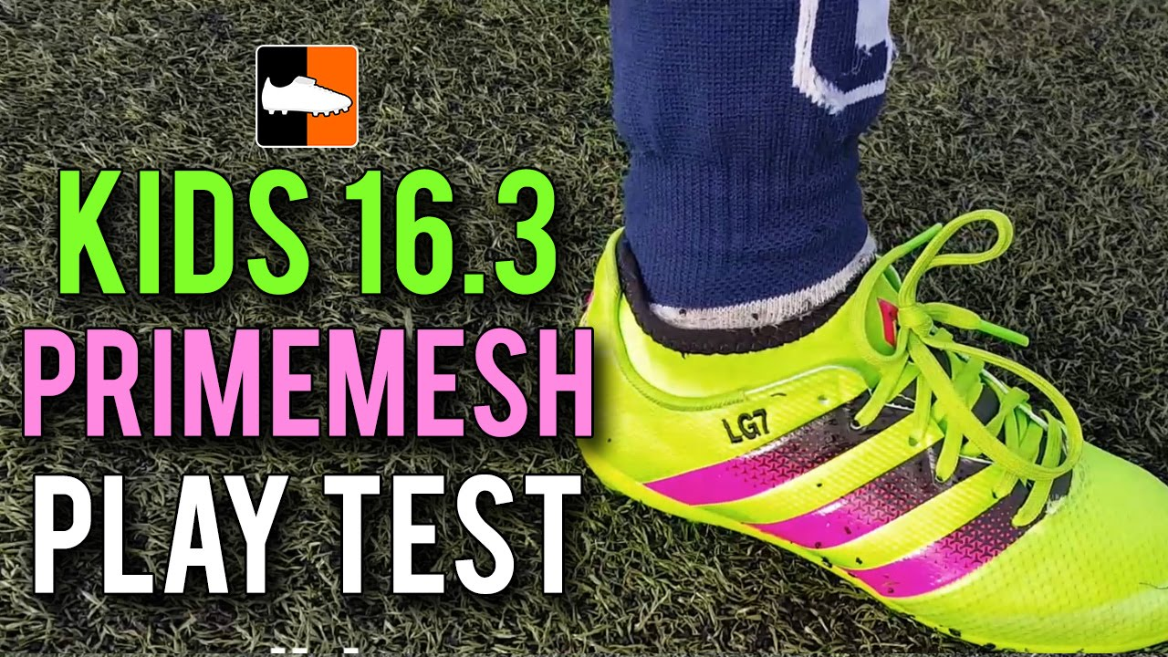 38e71518f Kid s adidas ACE 16.3 Primemesh Play Test Feat. Tekkerz Kid - YouTube