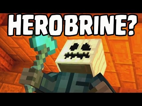 "Minecraft: Story Mode 6 - HEROBRINE IS NOT WHITE PUMPKIN ""A Portal To Mystery"" PROOF/EVIDENCE"