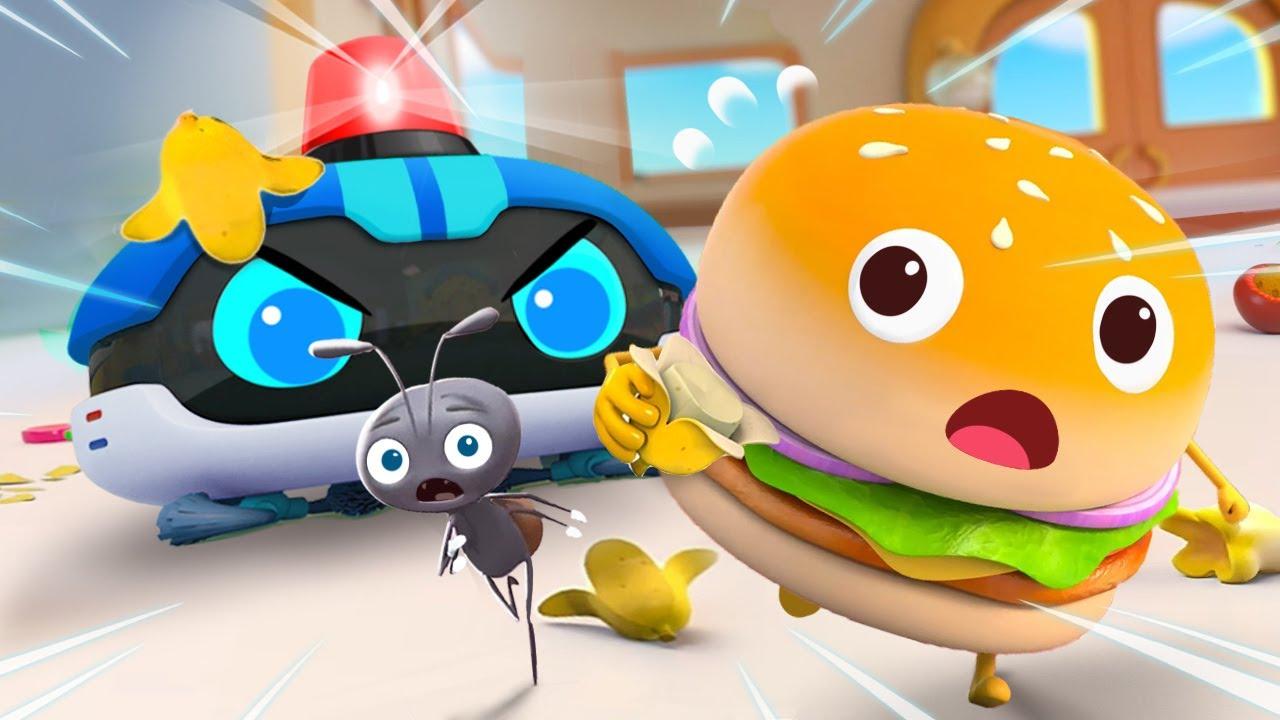 あちこちゴミを捨てないで!★ドーナツのチャレンジ第13話 | 赤ちゃんが喜ぶアニメ | 動画 | ベビーバス| BabyBus