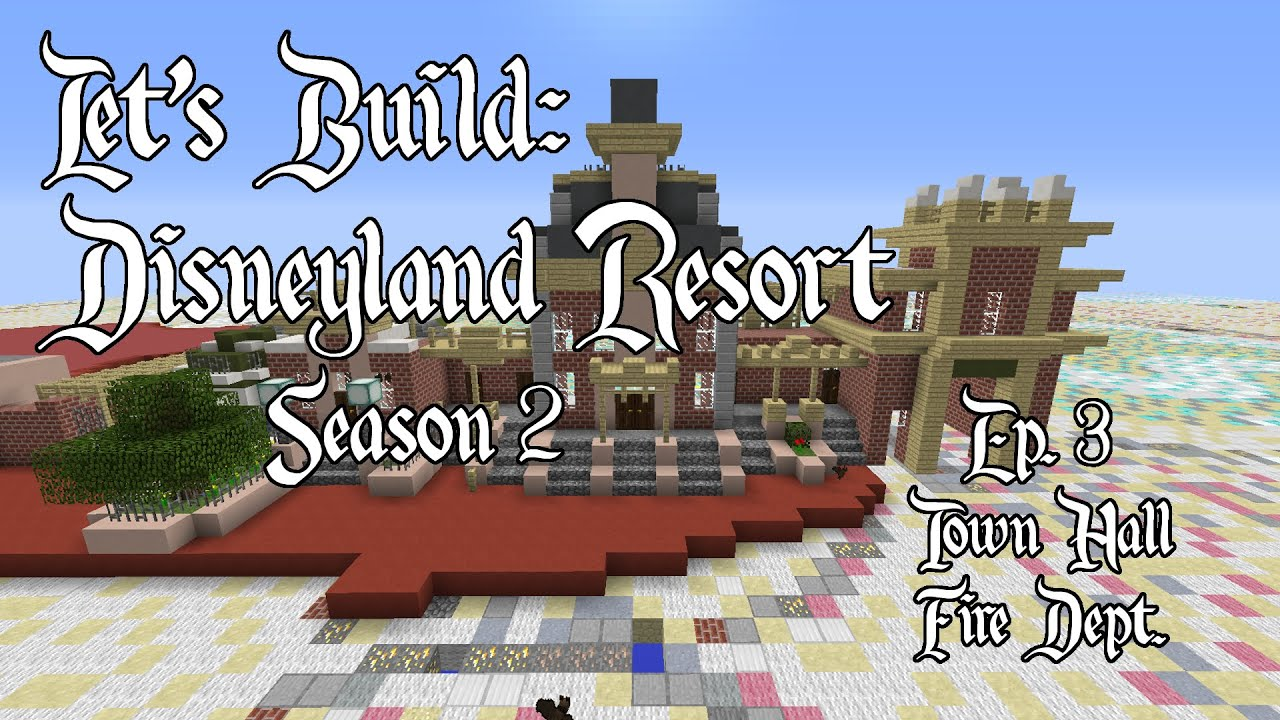 Minecraft Let's Build Disneyland