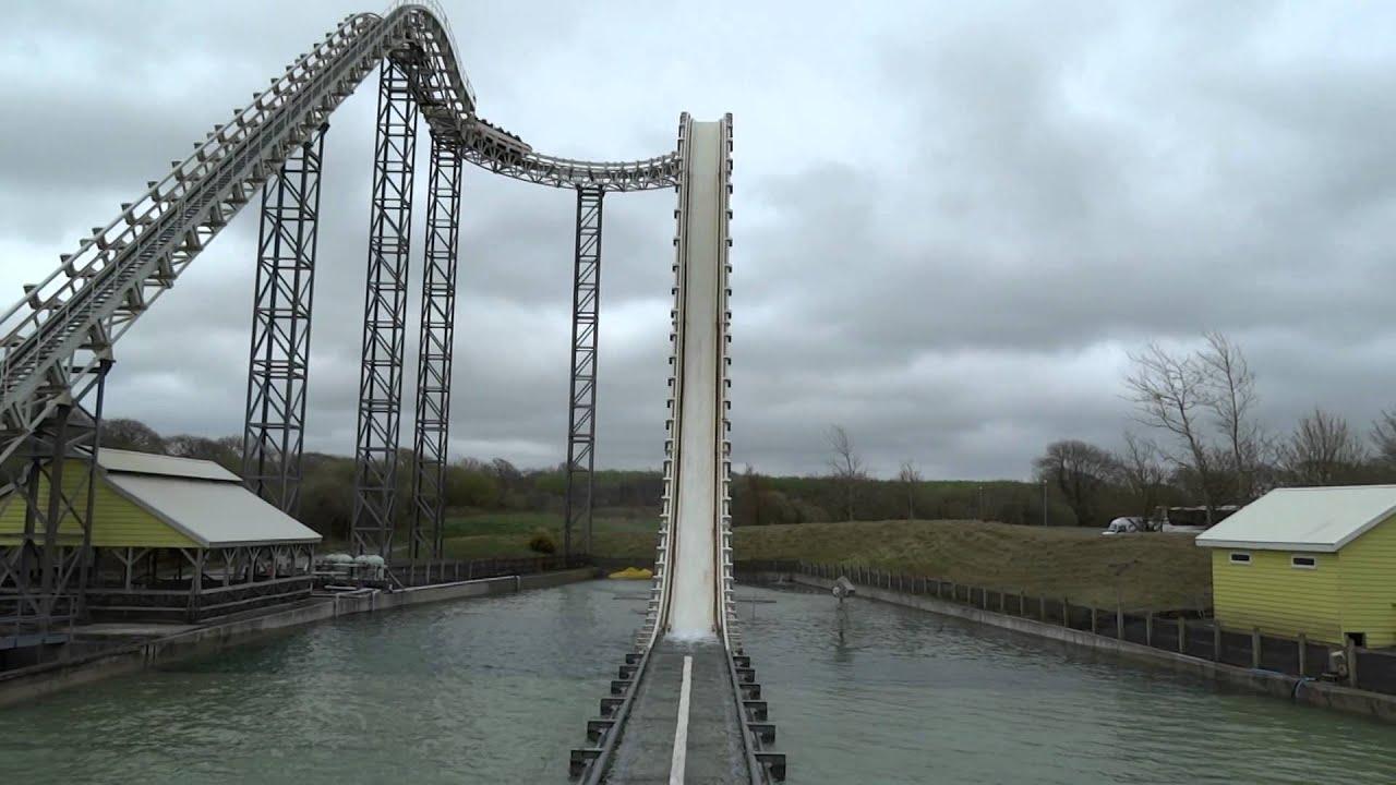 Drenched Oakwood Theme Park Wales Uk Youtube