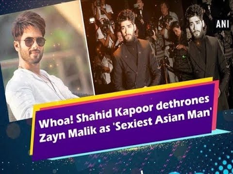 Whoa! Shahid Kapoor dethrones Zayn Malik as 'Sexiest Asian Man'  - ANI News