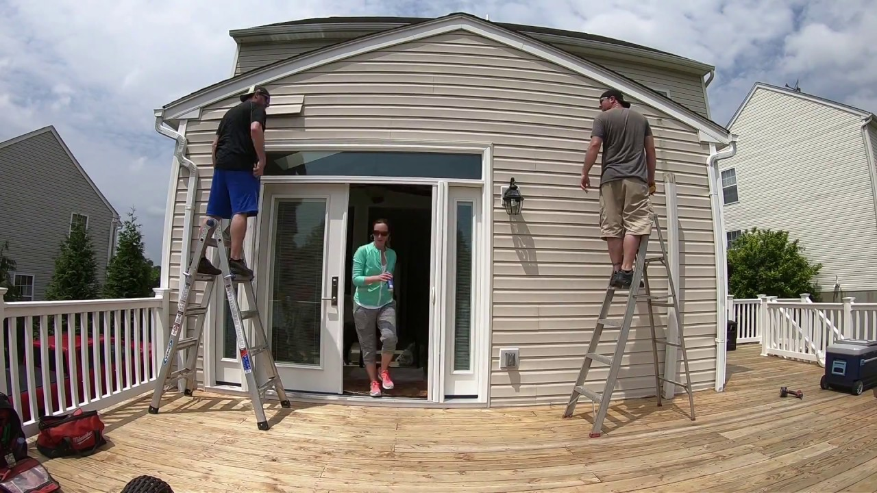How to Install a SunSetter® Awning - YouTube