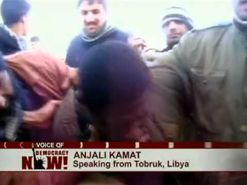 Thousands Feared Dead in Gaddafi's Crackdown on Libyan Uprising: Anjali Kamat Reports from Al Bayda