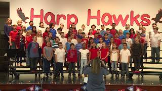 Harp Elementary 4th Grade | This is America
