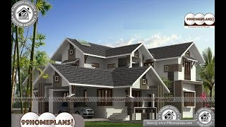Indian House Design By 99HOMEPLANS COM [ Esp: M099 ]