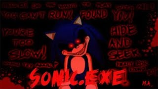 Roblox's Sonic.exe / Sonic has blood on his Hands, Teeth, Claws!