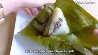 Banh Gio - Vietnamese Rice Pyramid Dumplings Recipe