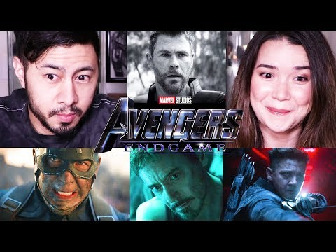 AVENGERS: ENDGAME | Official Trailer | Reaction!
