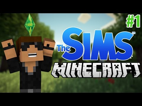The Sims in Minecraft!! (Sim Kraft) Ep.1