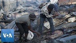Fire in Port-au-Prince Tears Through One of Haiti's Largest Markets