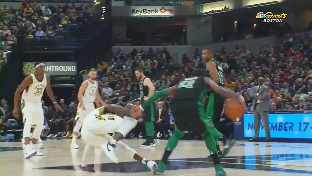 Kyrie Irving Ankle Breaks Darren Collison!!!