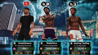 Easy 3v3 Wins With King Shawnn & Hashtag | First Couple Games At 93 Overall! NBA 2K19 MyPark