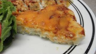 Impossibly Easy Mac 'n' Cheese Pie