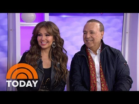 Tommy Mottola And Thalia Team Up For '15: A Quinceanera Story'  TODAY