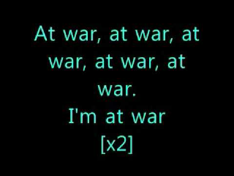 I'm at war Sean Kingston Ft Lil Wayne [lyrics].