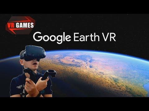 Планета земля в виртуальном мире. Google Earth VR.