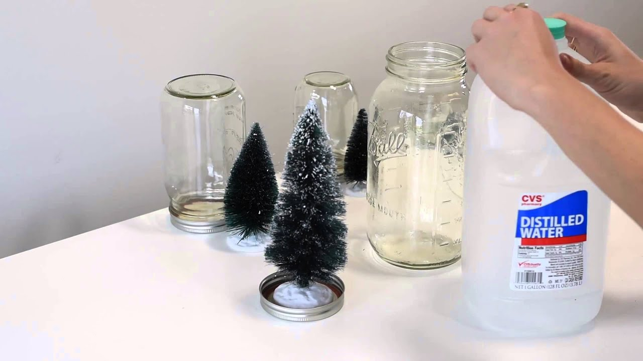 mason jar snow globe 10th diy of christmas