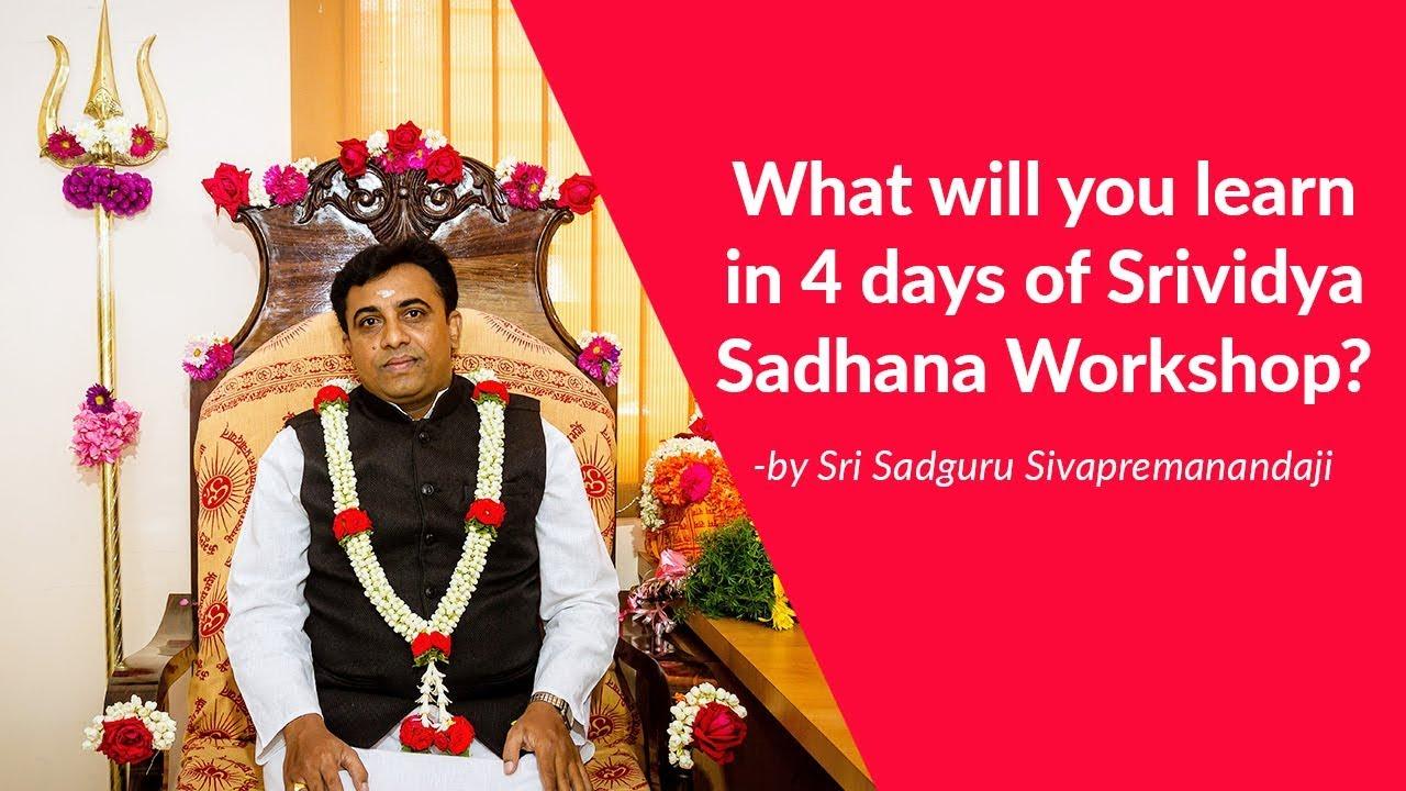 Sri Vidya Sadhana Workshop - Sri Vidya sadhana shivir | Sri