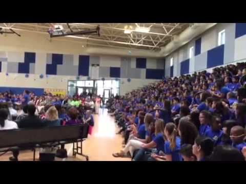 School Participates in Celebration at Irene Lopez School Renaming