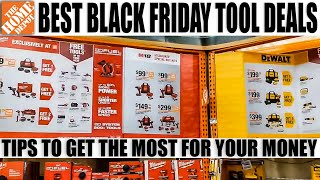 BEST TOOL DEALS for BLACK FRIDAY at THE HOME DEPOT