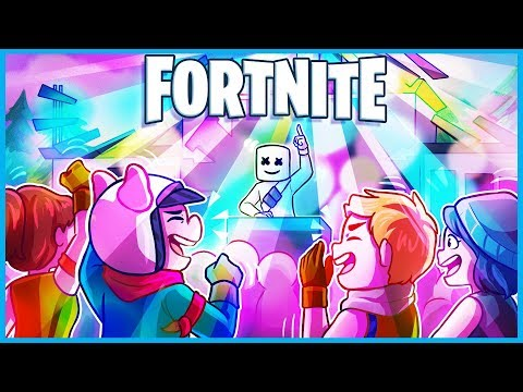 *NEW* MARSHMELLO CONCERT EVENT in Fortnite: Battle Royale! (EDM SHOW at PLEASANT PARK) thumbnail
