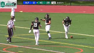 Gambar cover Nichols College Football vs Alfred St  9-22-18