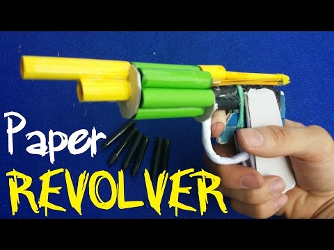 How to make a Paper Revolver Gun that...