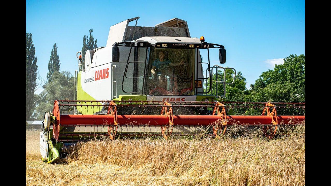 Žně 2020 - Ječmen  | Harvest 2020| Claas lexion 550 | John Deere