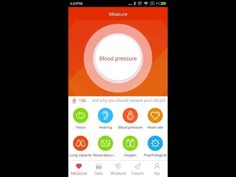 Measure *blood Pressure  BP*  On Your Android Smartphone Mobile- *REAL App*- Health Measurement App