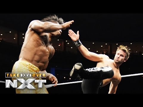 Tyler Breeze brings the fight to Velveteen Dream: NXT TakeOver: XXV