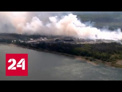 Огненная стихия уничтожает Красноярский край
