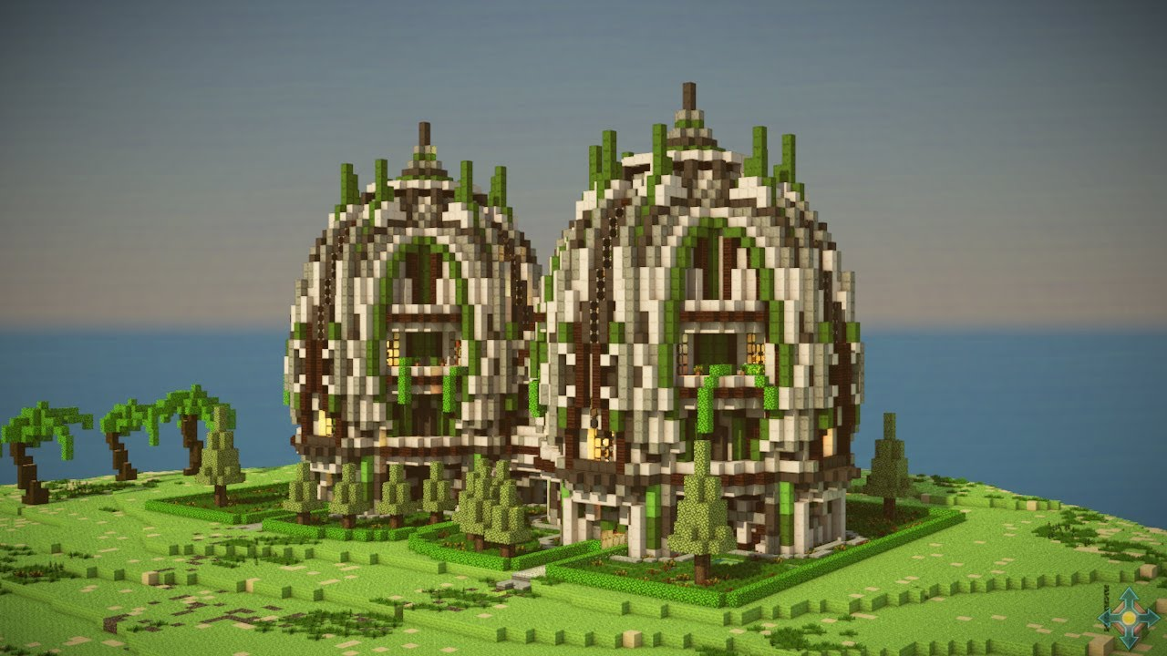 Futuristic Builds Minecraft