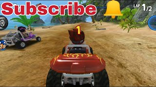 🏖Beach pe racing mazaa aagya (android racing game) awesome || by dSp
