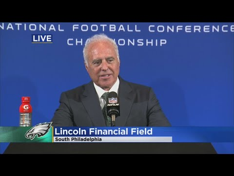 Eagles Owner Jeffery Lurie Talks About His Team Winning NFC Championship