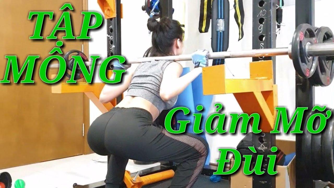 25 Phút Tập Mông Giảm Mỡ Đùi Tại Nhà Cùng Junie - HLV Ryan Long Fitness