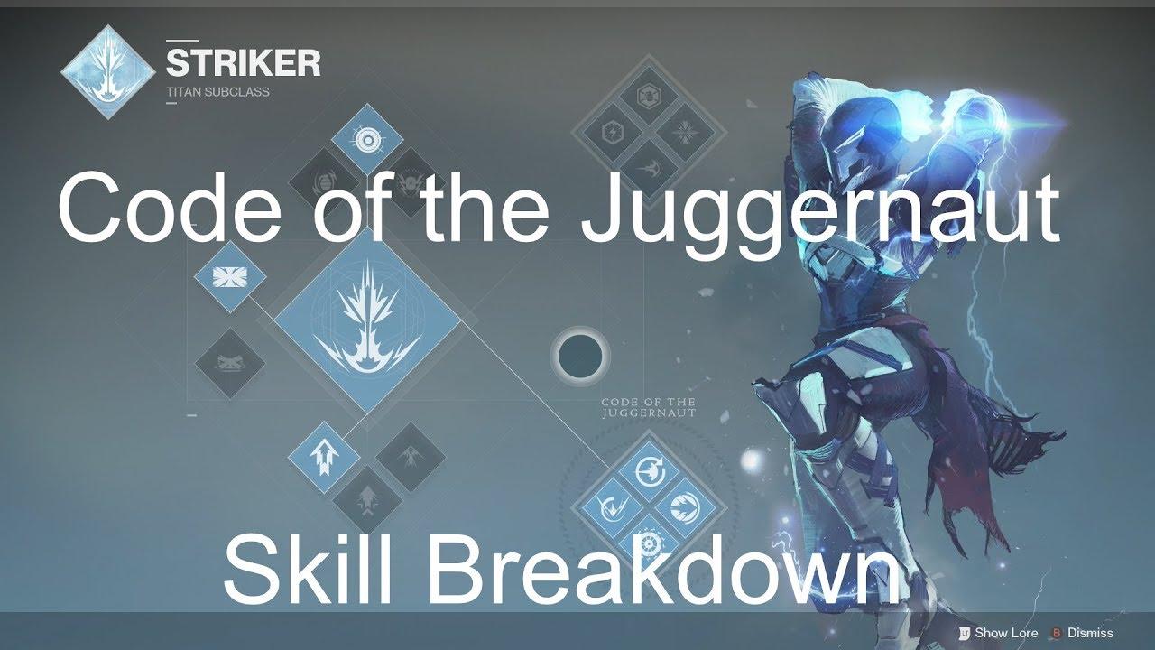 Destiny 2: Titan Striker guide - Abilities, skill tree, Super