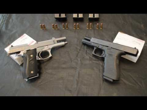 Glock vs Taurus PT 92 ( Beretta 92fs Clone ) SIDE BY SIDE SPECS AND OPINION