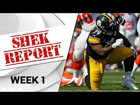 Top 4 Fails of Week 1 | Shek Report | NFL