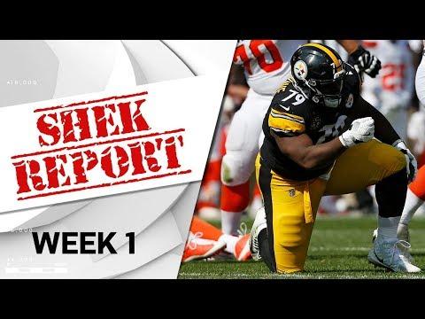 Top 4 Fails of Week 1   Shek Report   NFL