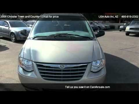 2006 chrysler town and country limited for sale in mesa az 85210 youtube. Black Bedroom Furniture Sets. Home Design Ideas