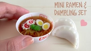 DIY Mini Ramen & Dumpling Japanese Candy kit - Kracie Pop 'n Cook