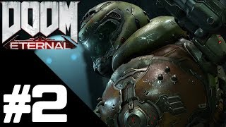 DOOM ETERNAL Walkthrough Gameplay Part 2 – Exultia Mission – PS4  No Commentary