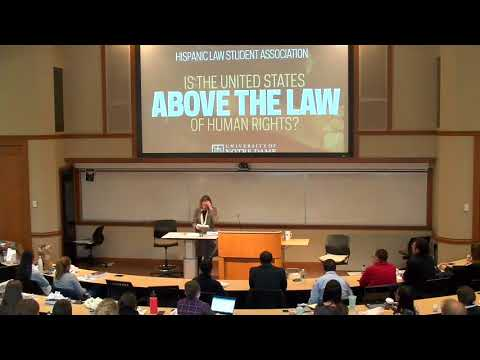 Is the United States above the law of human rights?